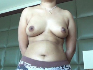 Indian GF nude in bed