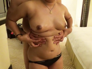 Loving Indian couple hotel sex
