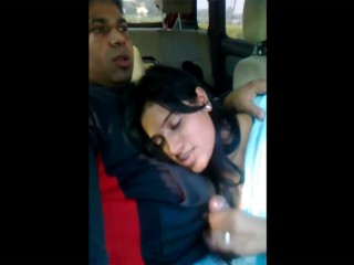 Indian GF blowjob in car mms
